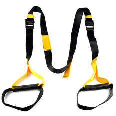 Suspension Trainer Straps Kit-Body Weight Gym Training MMA WorkoutCrossfit TRX - Intl
