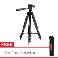 Takara Tripod Eco 173A With Pouch/Tas