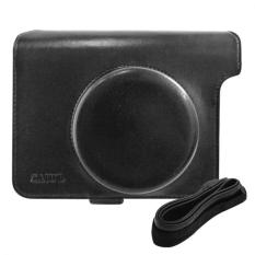 Takashi PU Leather Protective Bag With Strap For Fujifilm Instax Wide 300 Instant Camera (Black)