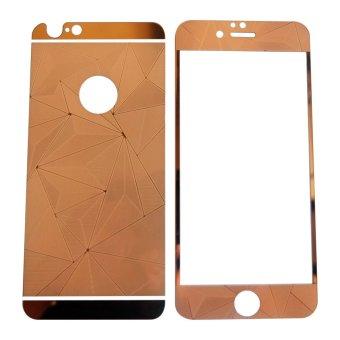 Tempered Glass 3D 2in1 For iPhone 6 Plus / Iphone6+ / iPhone 6GPlus / 6S Ukuran