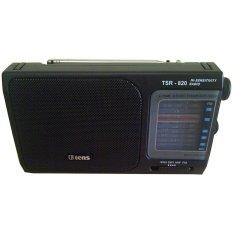 Tens Radio 4 Band AC / DC TSR-820 - Hitam