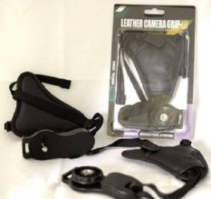 Third Party Handstrap Leather Camera Grip-III
