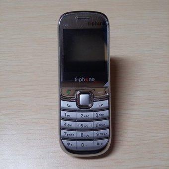 0% TiPhone T20 (HP Sebesar Korek Api) - Black