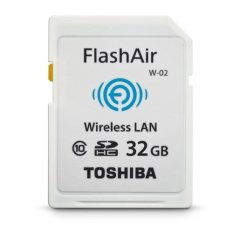 Toshiba SDHC Memory Card Wifi Class 10 Flash Air - 32 GB