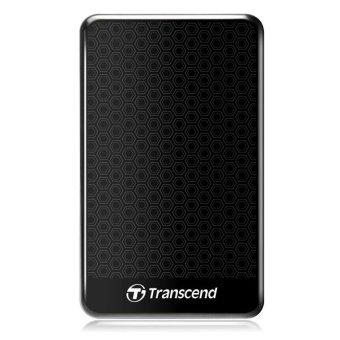 Transcend StoreJet - 1 TB - Hitam