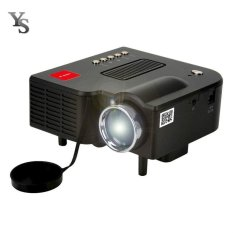 UC28A Mini Pico Projector Home Cinema Theater Digital LED LCD Projector VGA/USB/SD/AV/HDMI Multimedia Projecyor - intl