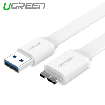 UGREEN 1m USB 3.0 Charging and Data Sync Cable for Samsung Note 3 S5 (White)