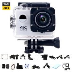 Ultra HD 4K WiFi Action Camera Sport DV LCD 170D Len Helmet Camera Underwater go Diving Waterproof pro Camcorder 1080P 16MP Camera - intl