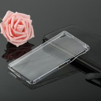 Ultra Slim Thin Silicone TPU Transparent Soft Clear Phone Cover Case For Sony Z2 Phone Cases - intl