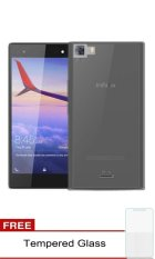 Ultrathin for Infinix Zero 3 X552 - Black clear + Free Tempered Glass