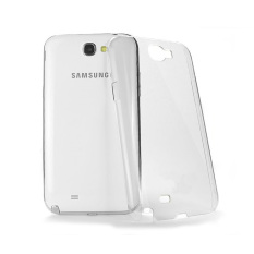 Ultrathin Softcase Samsung Note 2 - Putih Clear