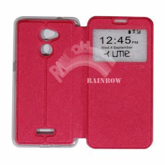 Jual Ume Coolpad Fancy 3 E503 Ukuran 5.5 Inch Flip Cover / Flipshell / Leather Case