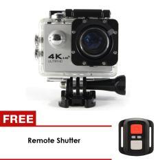 uNiQue Action Cam – Action Camera 4K – 16 MP – WIFI - Silver