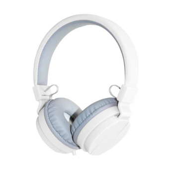 UNiQue Headset In Ear Multimedia Headphone With Built-in Microphone TV-05 - Putih