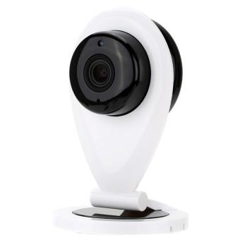 uNiQue Wifi Camera 720P IP Smart Camera CCTV Baby Monitor Slim (White)