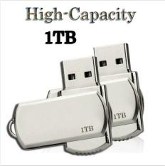 USB 2.0 U Disk Flash Drive Keychain 1TB Memory Stick Pen Metal