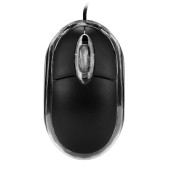 USB 2.0 Wired Optical 800dpi Mouse For Desktop / Laptop Computer