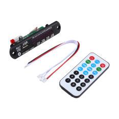 USB Bluetooth Hansfree SD FM MP3 Decoder Board 12V Audio Module + Remote