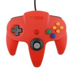 USB Game Controller Joypad Joystick Gaming For Nintendo N6.64 PC Red - Intl