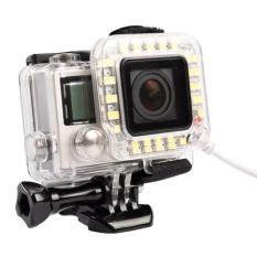 USB LED Light Lens Ring For GoPro Hero 4/3+ Frame