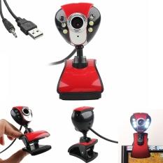 USB LED Night Vision Webcam Camera Web Cam