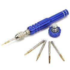 Useful 5 In 1 Repair Opening Metal Tools Kit Screwdrivers Set For Mobile Phones - Intl