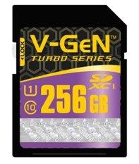 V-Gen SD Card 256GB Class 10 Turbo Series