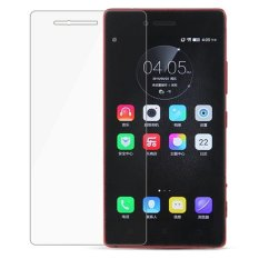 Vn Tempered Glass 9H for Lenovo Vibe Shot / Z90 2D Round Curved Edge Screen Protector