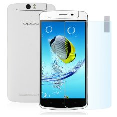 Vn Tempered Glass 9H for Oppo N1 2D Round Curved Edge Screen Protector .