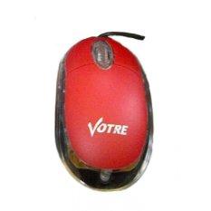 Votre Optical Mouse - Merah