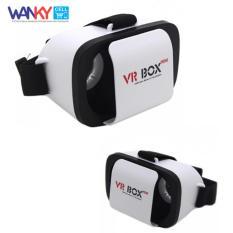 VR Box Mini Max 6 Inch Virtual Reality 3D Glasses For Smartphone - Putih