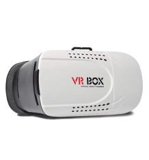 VR Box Virtual Reality Glasses Kacamata 3D Ver.1 for Smartphones & Ios - Putih