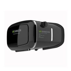 VR - SHINECON Virtual Reality 3D Video Glasses for Smartphone Android / iOS - Hitam