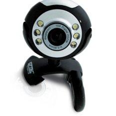 VZTEC USB 2.0 - 5 Mega Pixel Webcam Model VZ-WC1682 - Hitam
