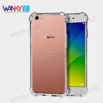 Wanky Anti Crack Shock Proof Softcase Silicone Casing For Oppo F3 Plus