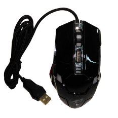 Warwolf Mouse Gaming G5 Super Player Competitive Game Mouse 3200Dpi Gold Plate Usb - Elite Mouse - Hitam