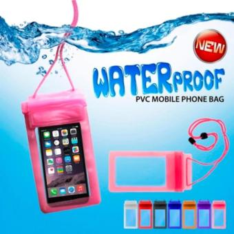 Source · Waterproof Case Universal 5.5 inch Pouch Handphone Anti Air Water Resistant Pocket