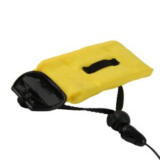 Waterproof Diving Floating Foam Wrist Armband Strap for Cameras- Yellow