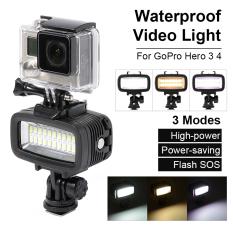 Waterproof LED Diving Video Light 20 LEDs 700LM for GoPro Hero 3/4 Camera LD729