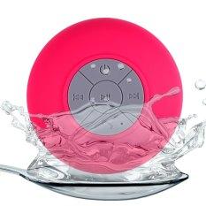 Waterproof Water Resistant Shower Bluetooth Speaker - Rose