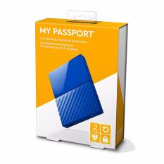 WD 2TB Black USB 3.0 My Passport Portable External Hard Drive (WDBYFT0020BBK-WESN) - intl
