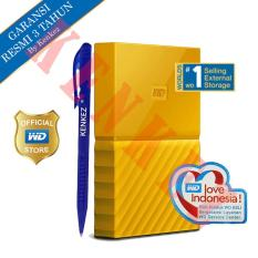 WD My Passport New Design 1TB/2.5Inch/USB3.0 - Kuning + Pen