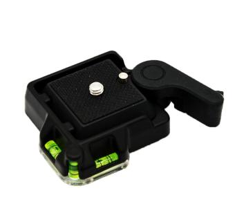 Wedzwe New Quick Release Plate For Giottos MH630 Camera Mount MH700.63.5011 (Black)