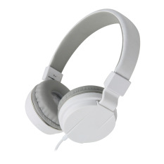 Wired Noise Isolation Over The Ear Headphone (White)