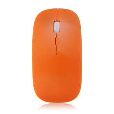 Wireless 2.4GHz USB Cordless Optical Mouse Mice For Notebook Laptop Computer PC Orange