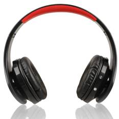 Wireless SD TF Card Stereo Headset For MP3/4 PC CD Black