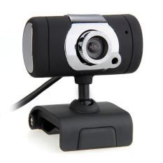 WiseBuy USB Webcam Web Cam Camera MIC For Desktop PC Laptop Black (Intl)