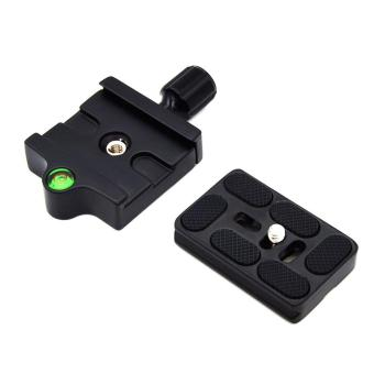 WOND Professional KZ-20 Camera Tripod Monopod Quick Release Clamp Adapter Plate Black