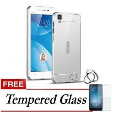 Samsung Galaxy J5 Prime Metal Bumper Acrylic Mirror Back Case Source · Cover Case for Samsung Galaxy Source 2016 Free Tempered Glass Silver Harga Dan ...