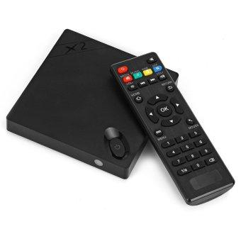 X2 Smart TV Box Android 4.4 XBMC WiFi H3 Quad-Core 1GB RAM 8GB ROM Black